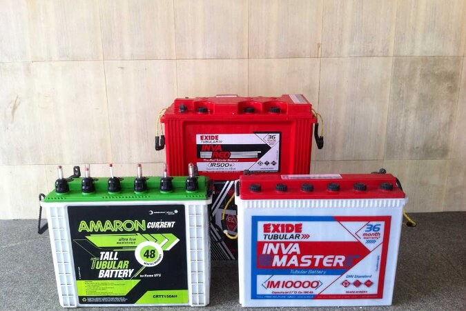 Best Inverter Batteryavailable in India