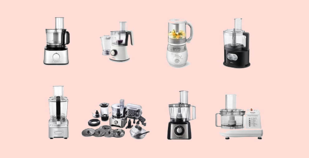 Types of Food Processors available in india