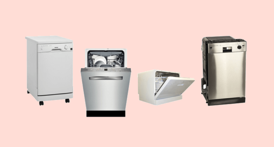 Types of dishwasher available in india