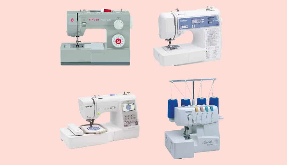 Types of sewing machines available in india