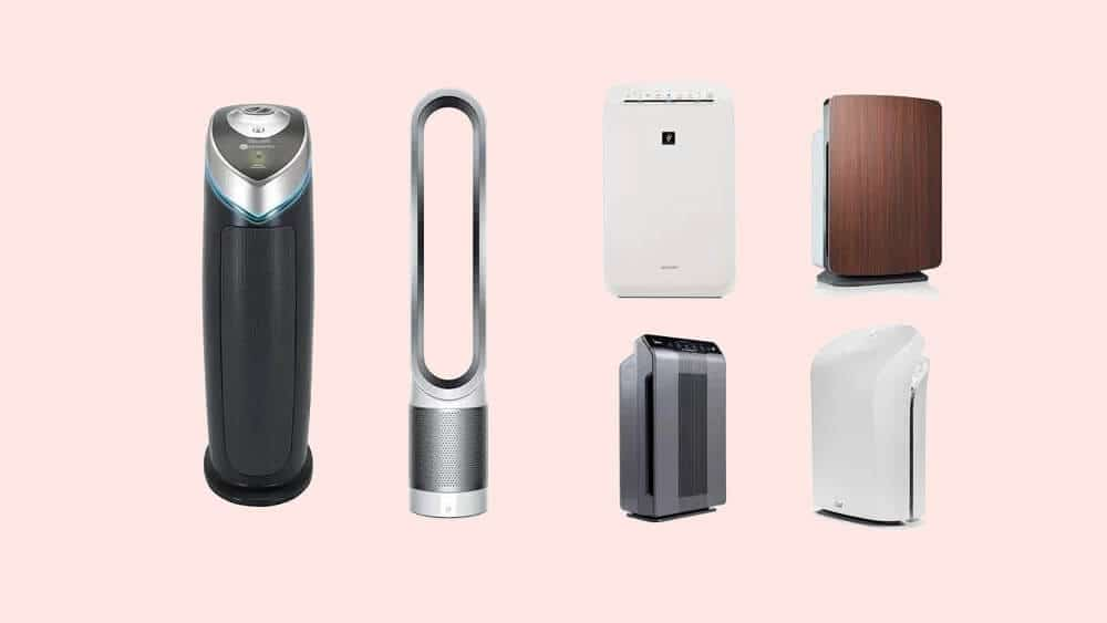 types of air purifiers available in indian market