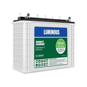 Luminous Shakti Charge Tall Tubular Inverter Battery