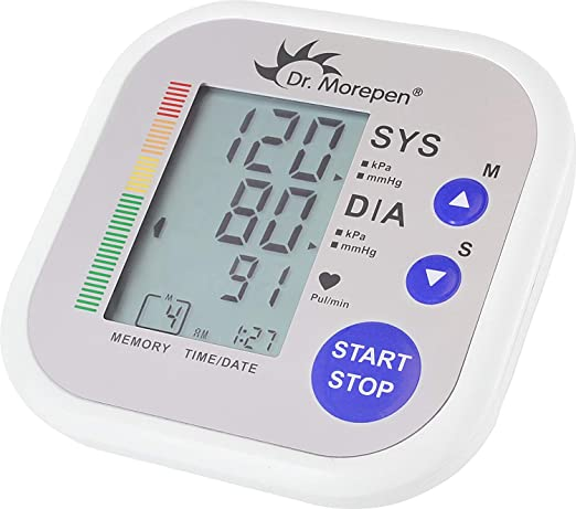 Dr Morepen Bp02 Blood Pressure Monitor