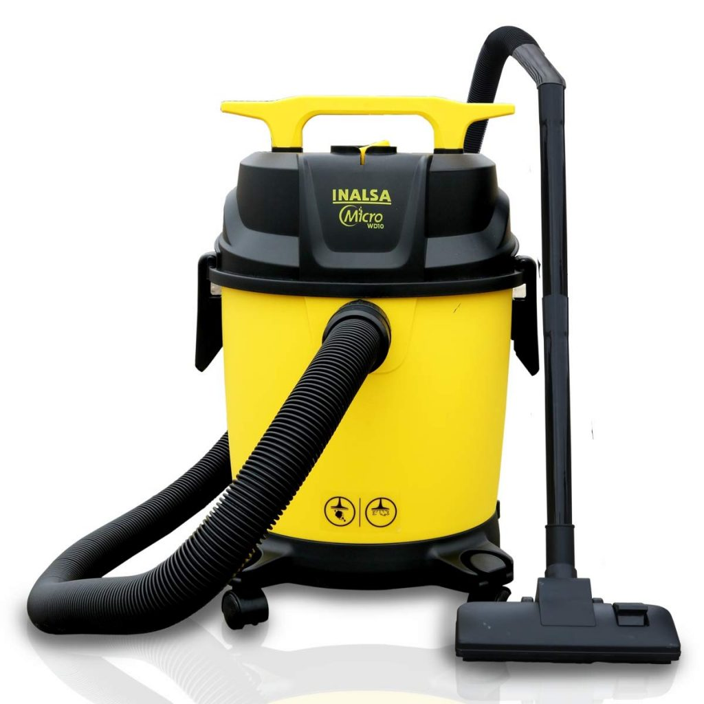 Inalsa Micro WD10-1000W Wet and Dry Vacuum Cleaner