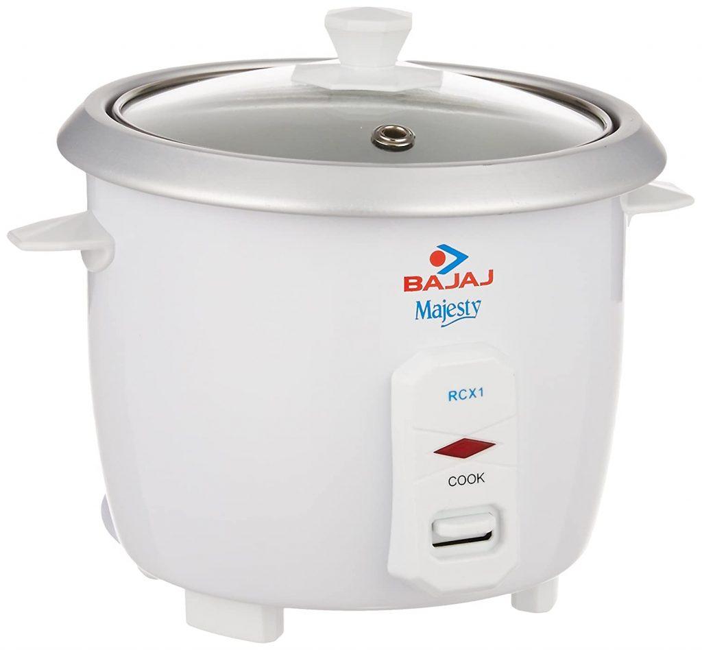 Bajaj Majesty RCX 1 Mini 0.4-Litre Rice Cooker
