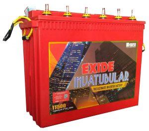 Exide'S It 500 Tall Tubular Battery