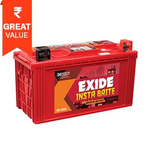 Exide New Insta Brite Battery