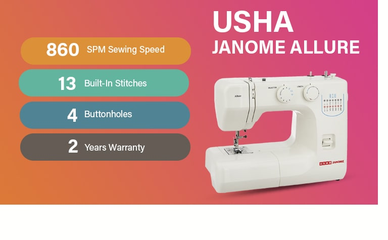 USHA Janome Allure