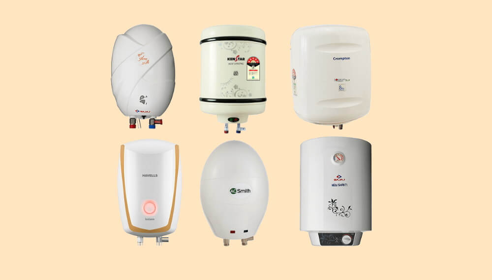 type-of-water-heater-available-in-indain-market