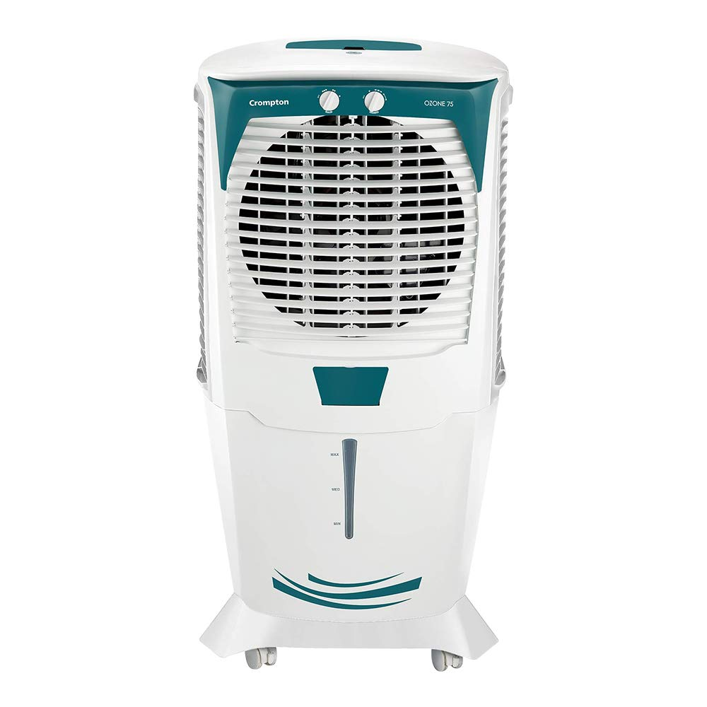 Crompton Ozone 75-Litres Desert Air Cooler with Honeycomb Pads