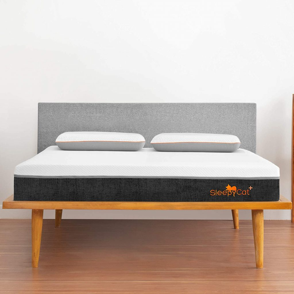 SleepyCat Plus 8-inch Orthopedic Gel Memory Foam King Size Mattress