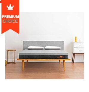 SleepyCat 7-Inch 100% Natural Latex Organic Mattress- King Size (78x72x7 inches)